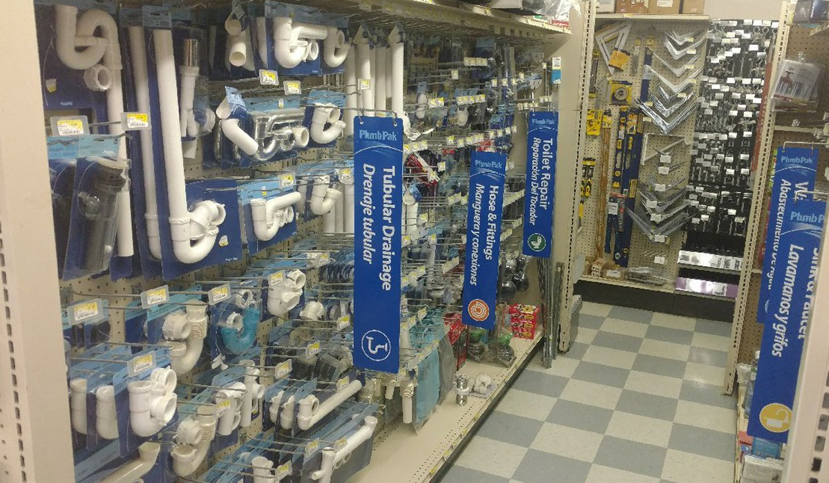 Plumging and drain hoses and fittings available at Moses Building Center