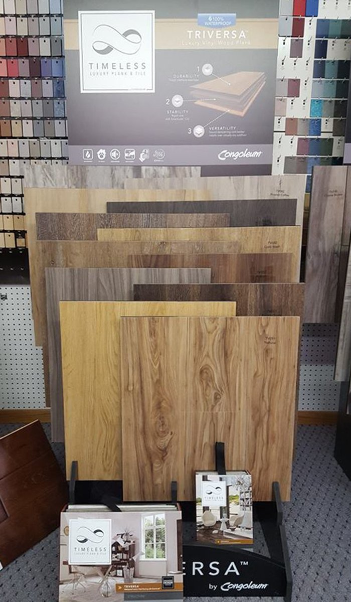 Hardwood flooring by timeless and triversa