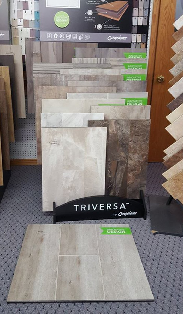 Tiversa Flooring available at Moses Building Center