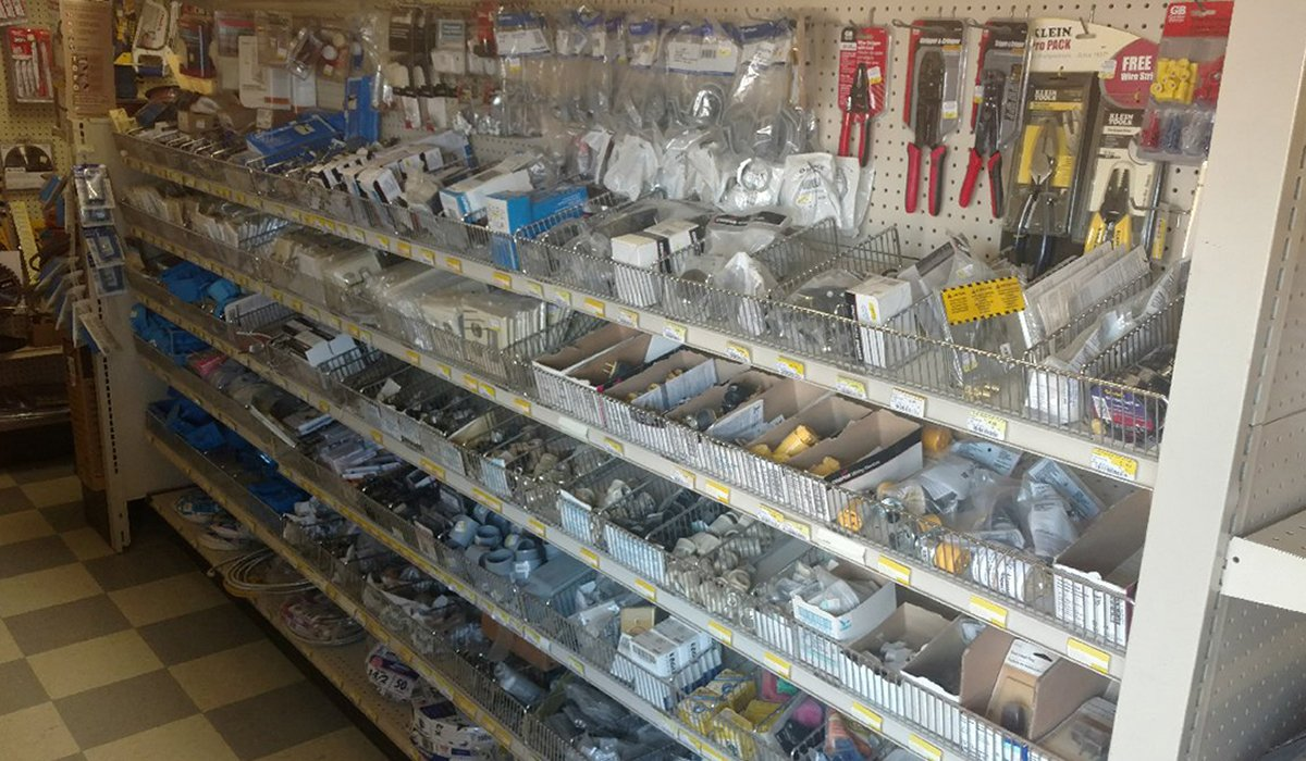 Tools and products available at Moses Building Center