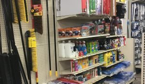 Home and auto supplies including filters, clenaing supplies and more at Moses Building Center