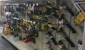 Hand tools and measuring tools at Moses Building Center