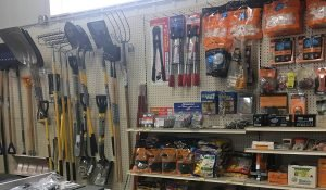 Yard and Electric supplies at Moses Building Center